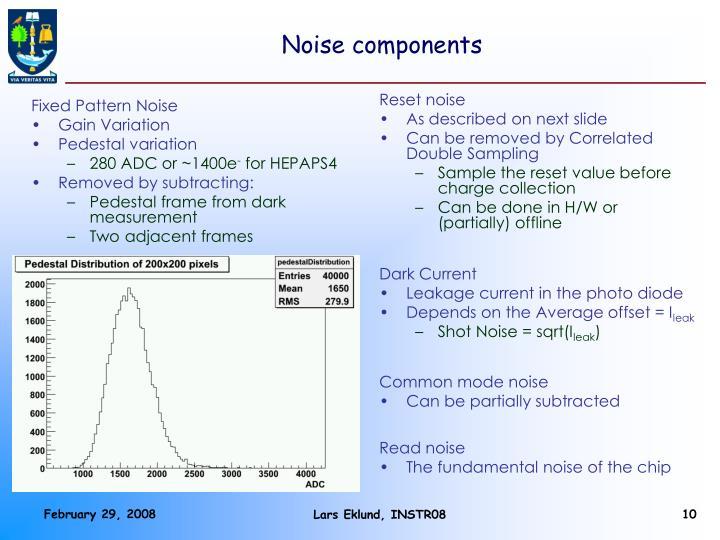 Noise components