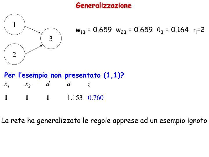 Generalizzazione