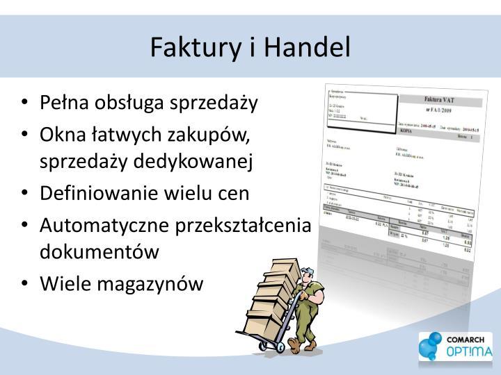 Faktury i Handel