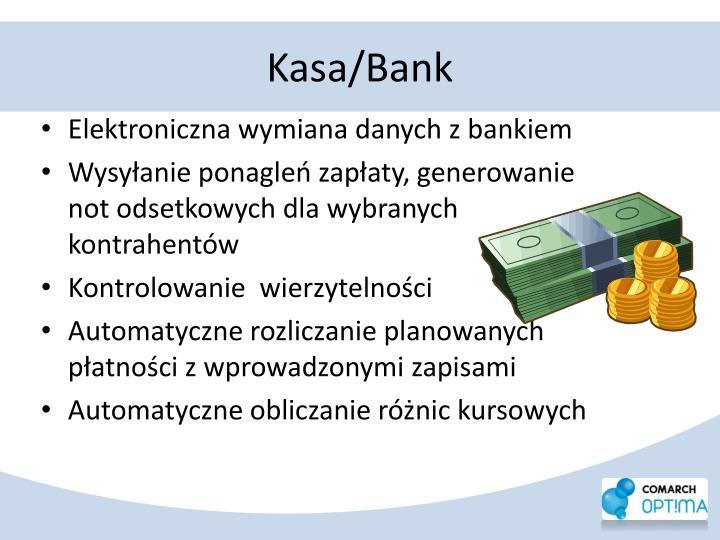 Kasa/Bank