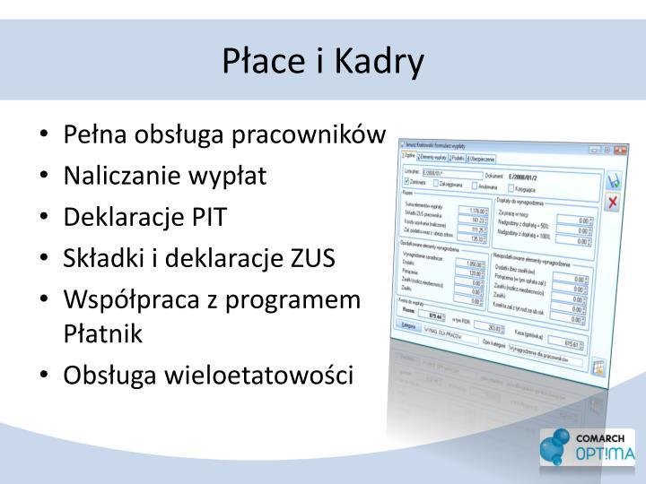 Płace i Kadry