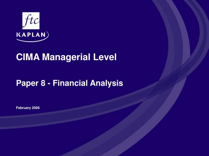 management accounting paper Maintenance management management accounting of management accounting is the knowledge in terms of the solved papers.
