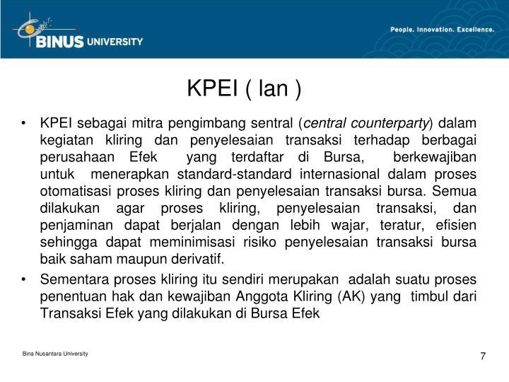 KPEI ( lan )