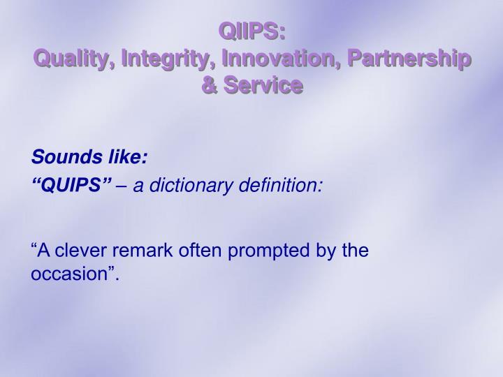 QIIPS: