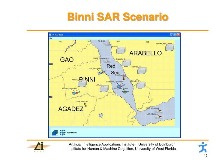 Binni SAR Scenario