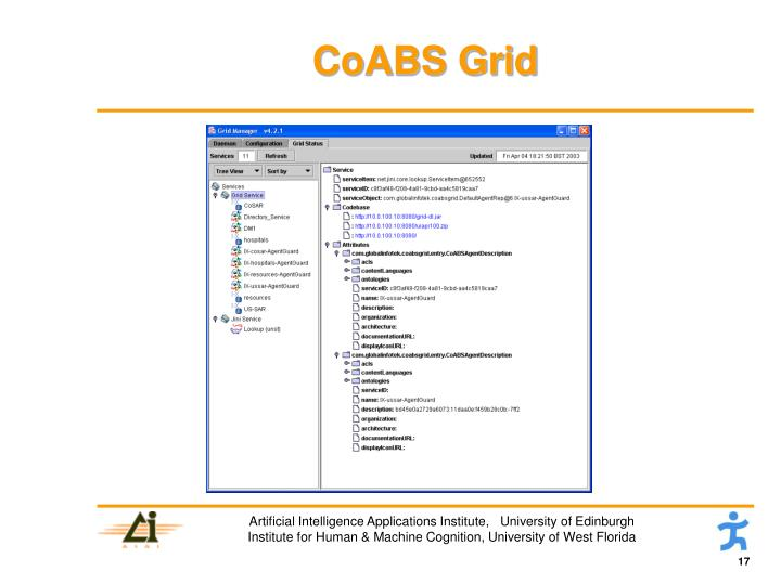 CoABS Grid