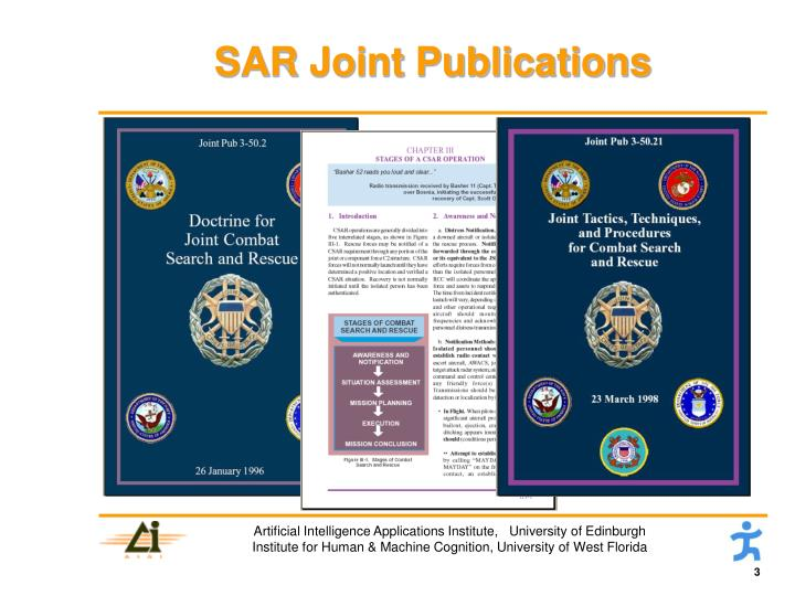 Sar joint publications
