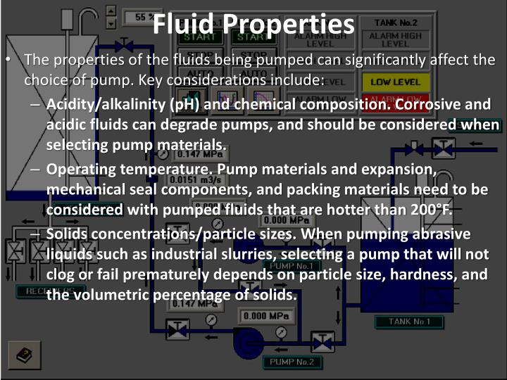 Fluid Properties