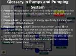 glossary in pumps and pumping system19