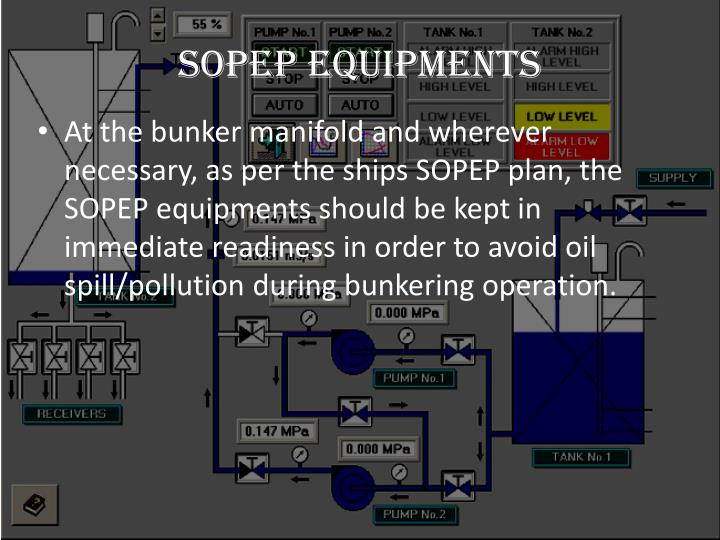 SOPEP equipments