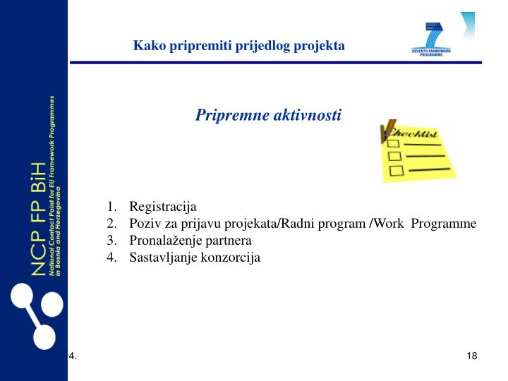 Kako pripremiti prijedlog projekta