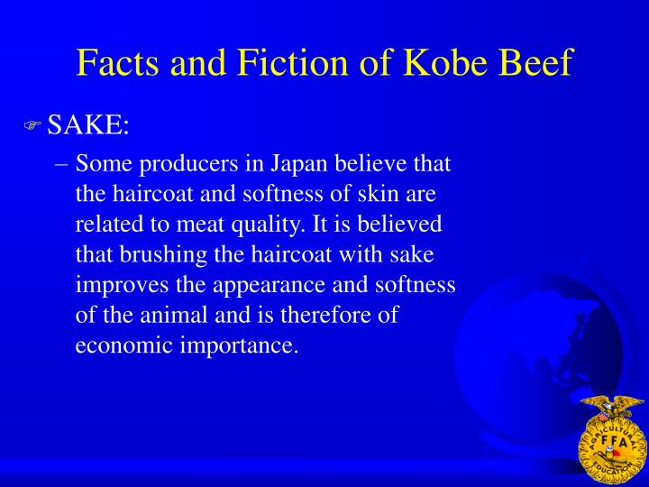 Facts and Fiction of Kobe Beef