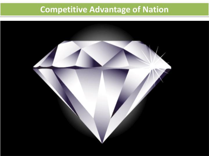 Competitive Advantage of Nation