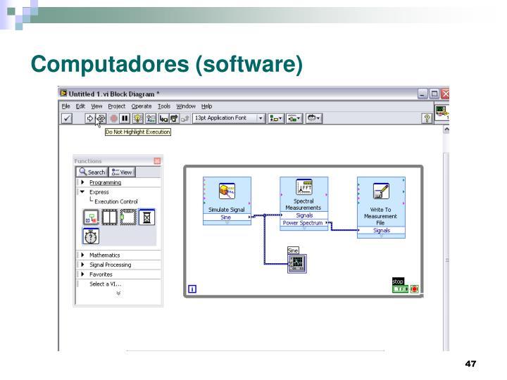 Computadores (software)