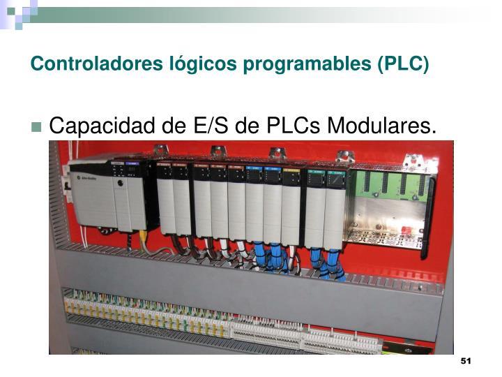Controladores lógicos programables (PLC)