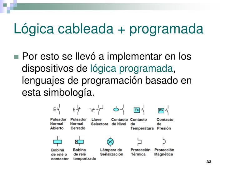 Lógica cableada + programada