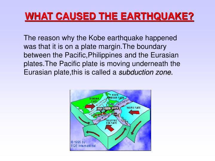 WHAT CAUSED THE EARTHQUAKE?