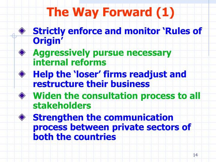 The Way Forward (1)