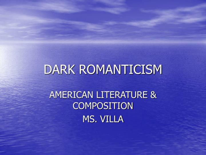 """romanticism in young goodman brown Hawthorne's works belong to romanticism or, more specifically, dark  in the  case of """"young goodman brown,"""" the main character looses his."""