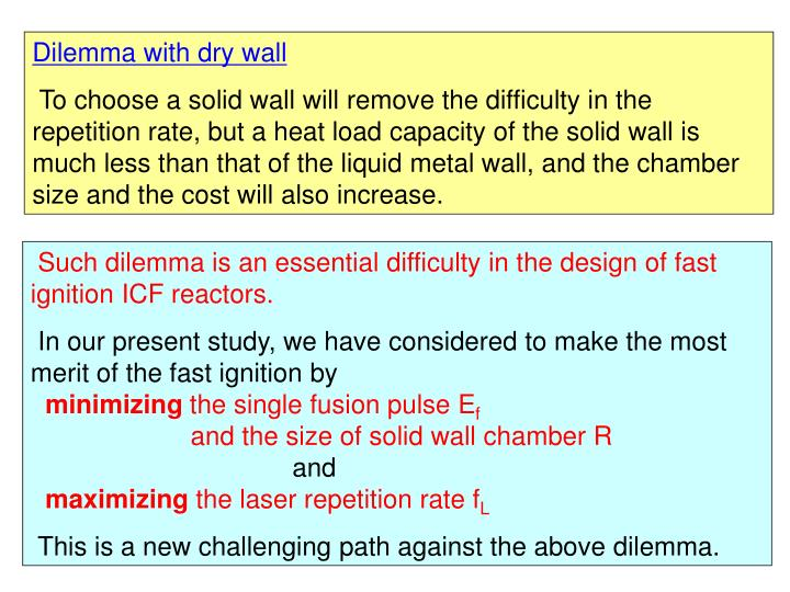 Dilemma with dry wall