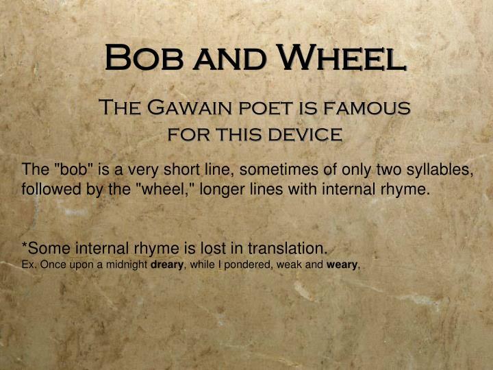 Bob and Wheel