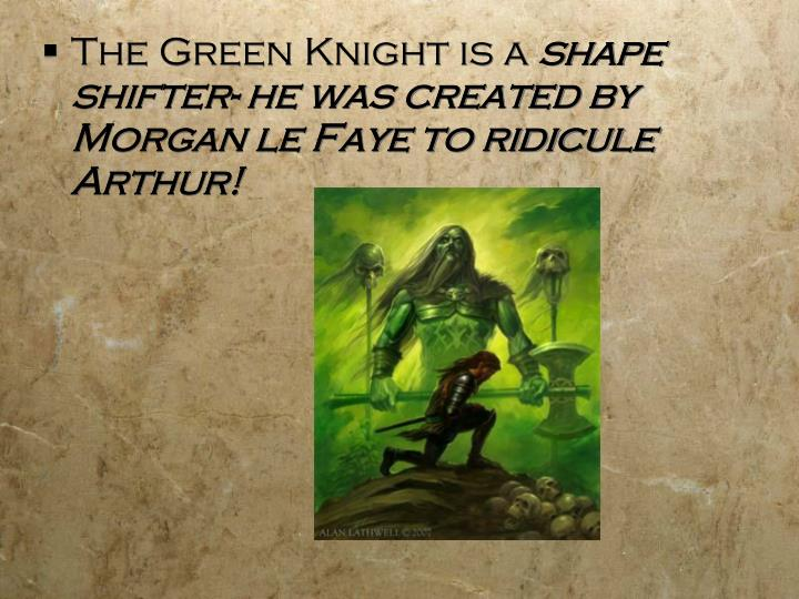 The Green Knight is a