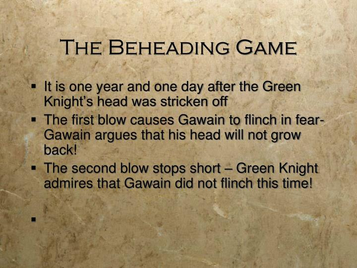 The Beheading Game