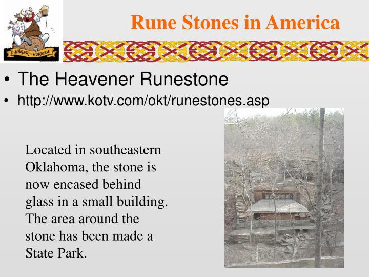 Rune Stones in America