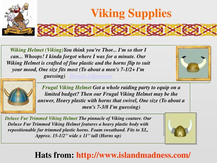 Wiking Helmet (Viking)