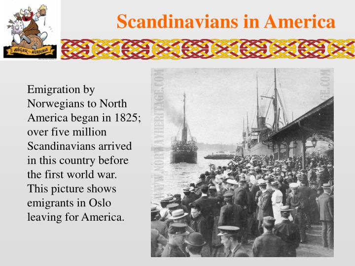 Scandinavians in America