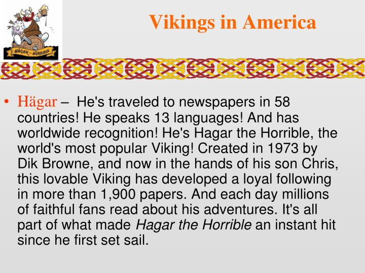 Vikings in America