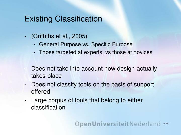 Existing Classification