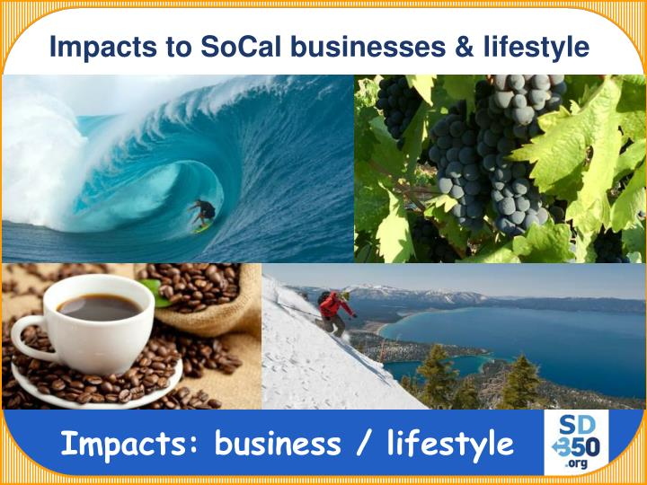 Impacts to SoCal businesses & lifestyle