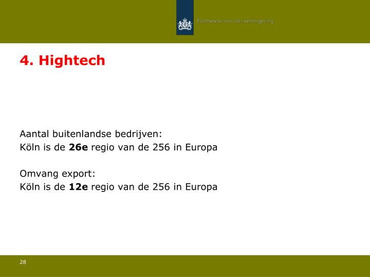 4. Hightech