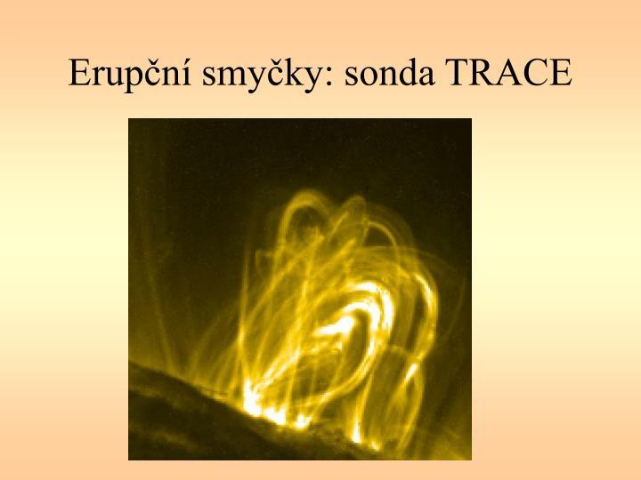 Erupční smyčky: sonda TRACE