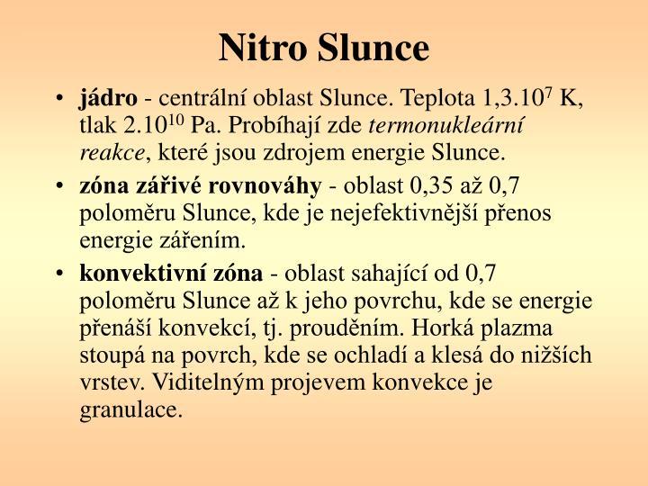 Nitro Slunce