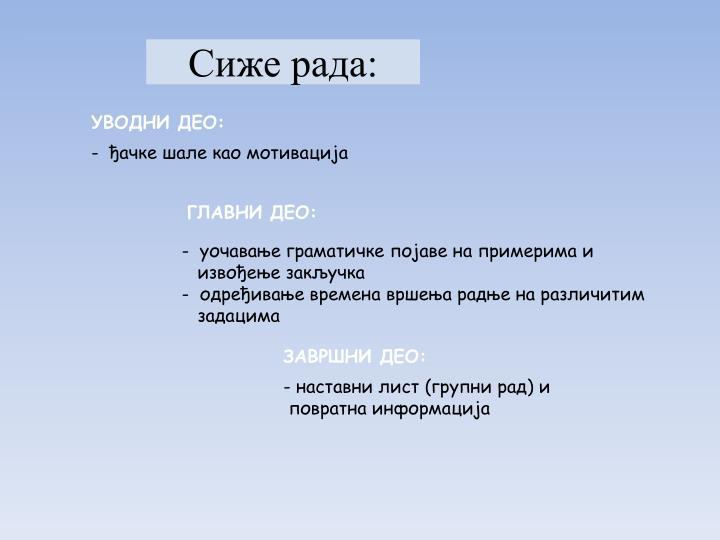 УВОДНИ ДЕО: