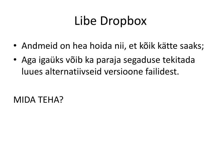 Libe Dropbox