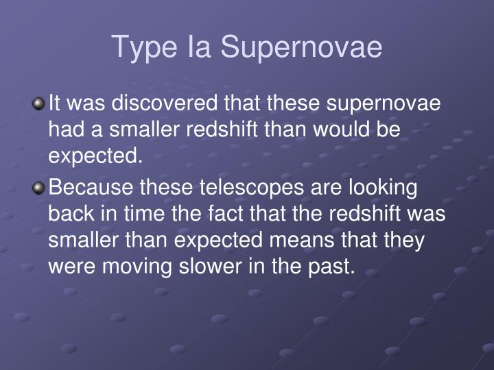 Type Ia Supernovae