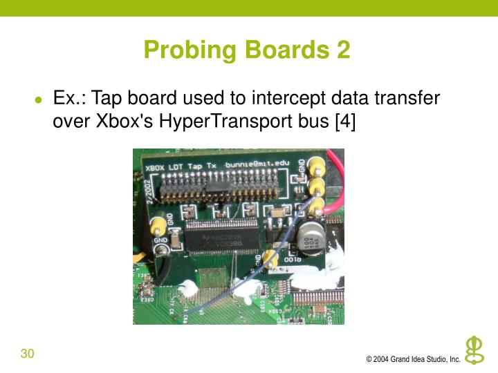 Probing Boards 2