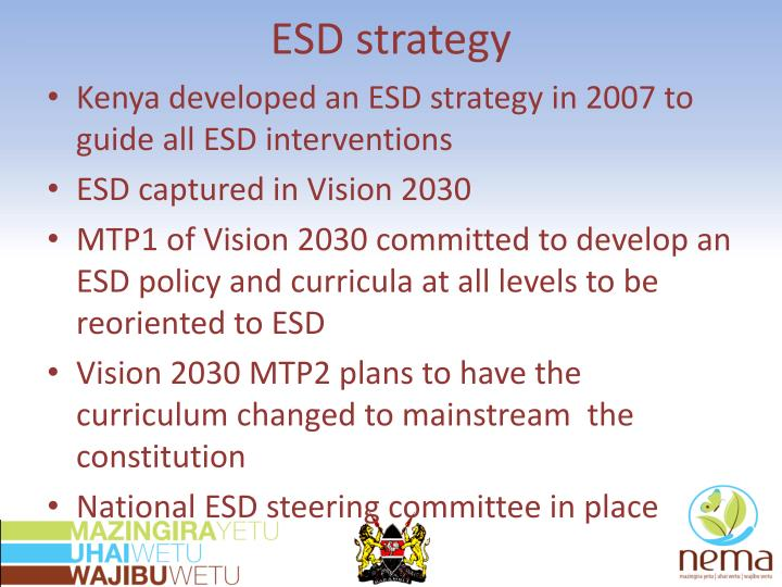 ESD strategy