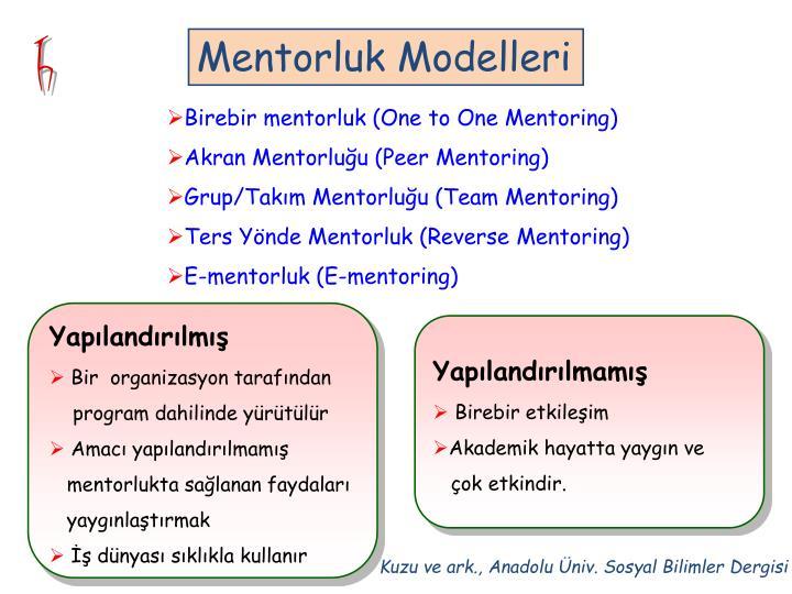 Mentorluk Modelleri
