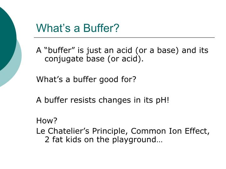 What's a Buffer?