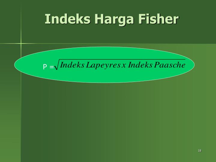 Indeks Harga Fisher