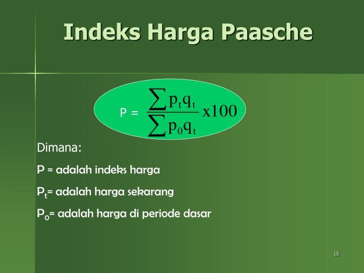 Indeks Harga Paasche
