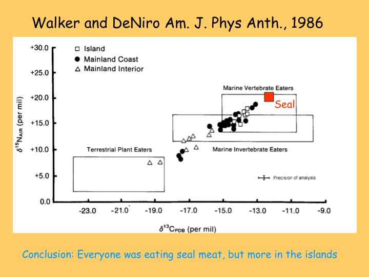 Walker and DeNiro Am. J. Phys Anth., 1986