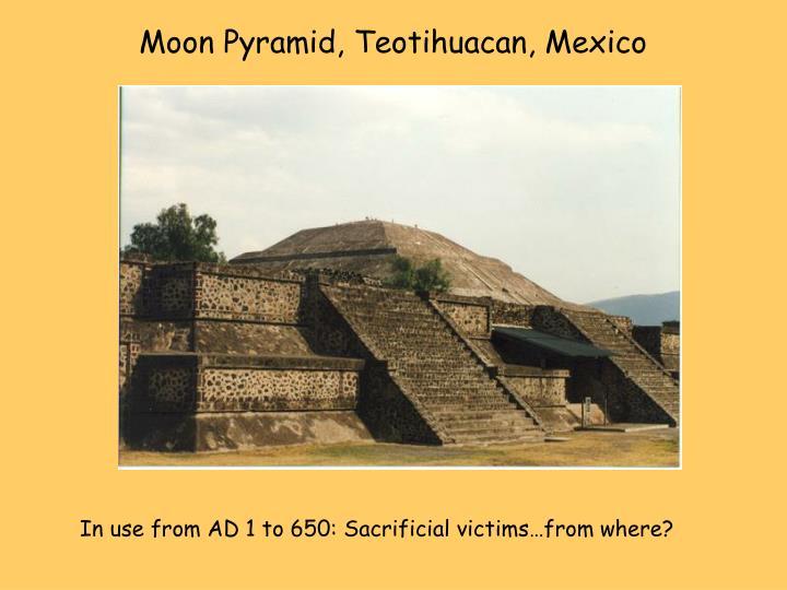 Moon Pyramid, Teotihuacan, Mexico