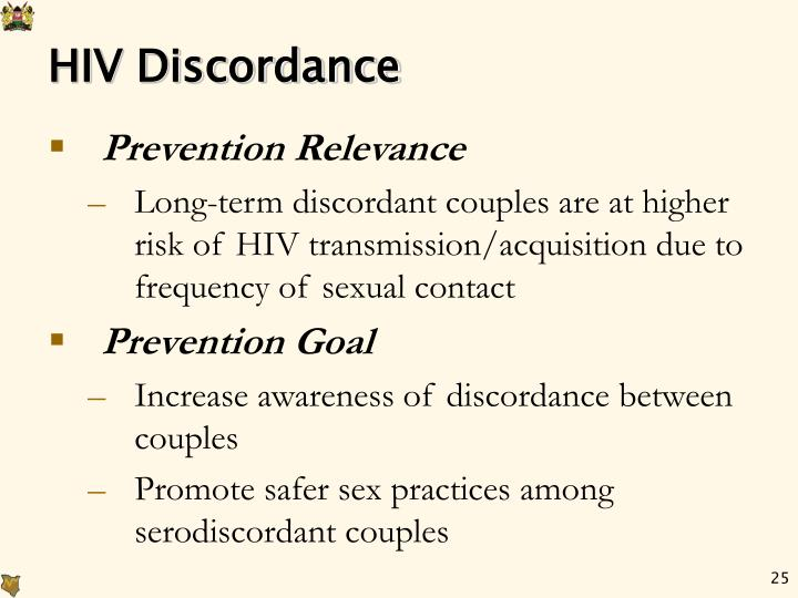 HIV Discordance
