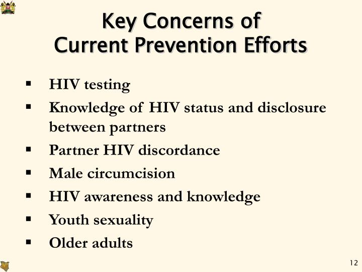 Key Concerns of