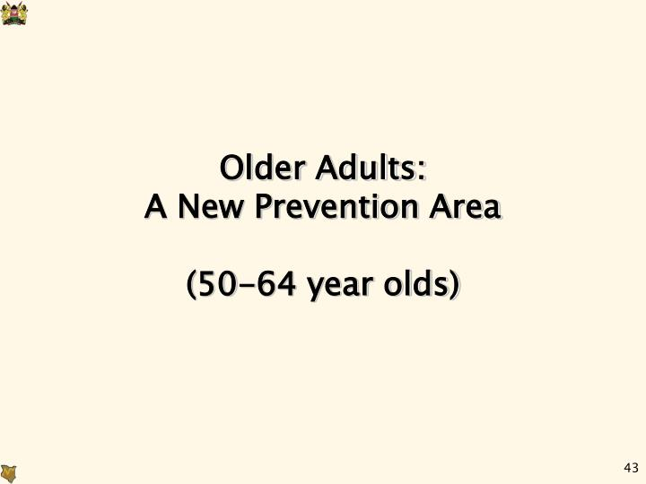 Older Adults: